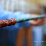 Custom Fishing Rod: Eagan Art Festival 2011