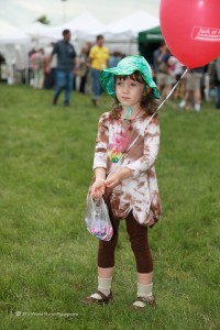 Eagan Art Fesitval: Cute little girl