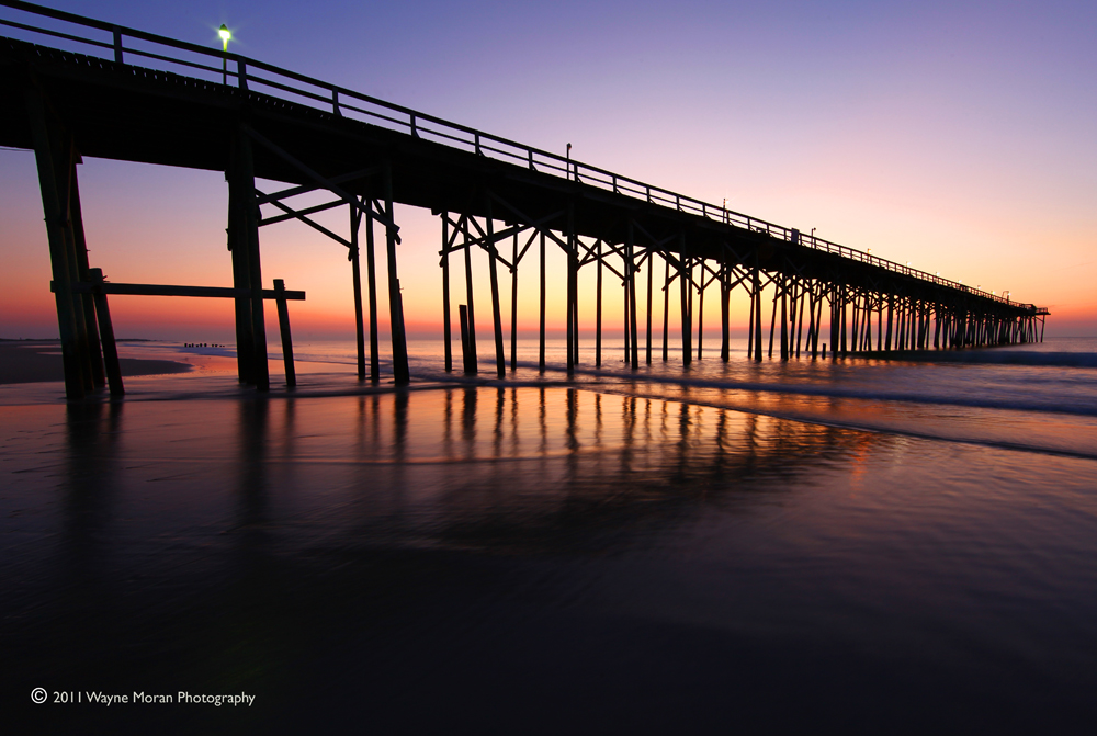 Carolina Beach Pier - Sunrise