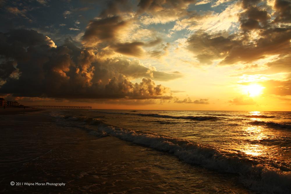 Glorious Sunrise - Carolina Beach NC