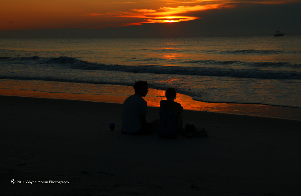 Romance at Sunrise - Carolina Beach NC