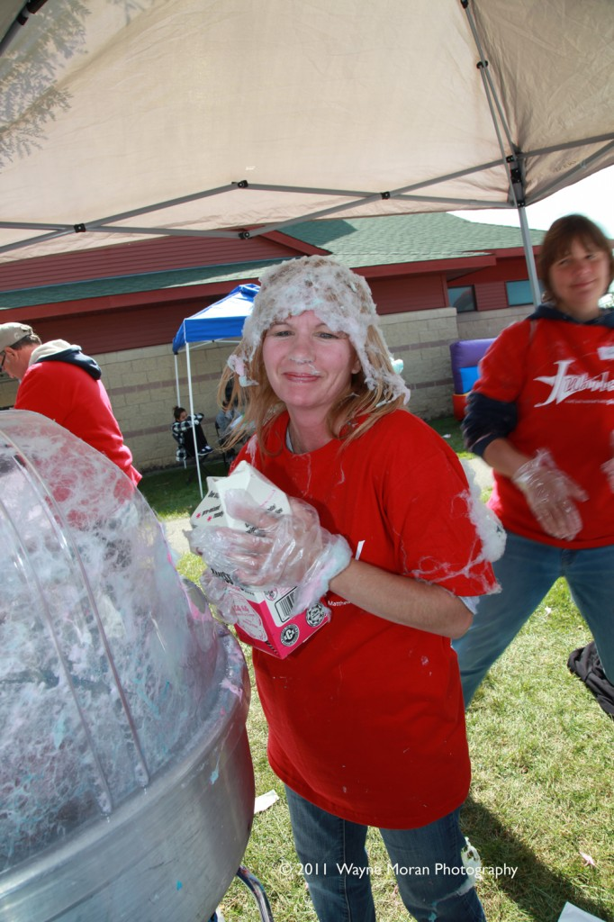 Can you say cotton candy at Jubilee Minnesota 2011 in Apple Valley Minnesota