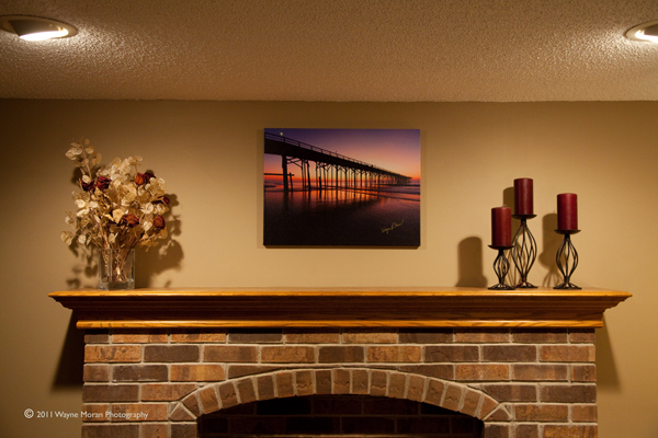 Easy Canvas Print Over the Fireplace II