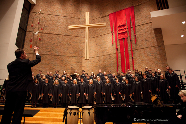 Dakota Valley Choral Festival 2011 Eastview choir