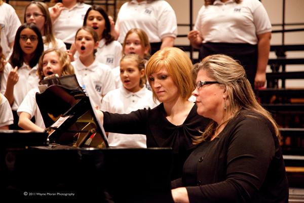 Dakota Valley Choral Festival 2011 Kelley Sundin