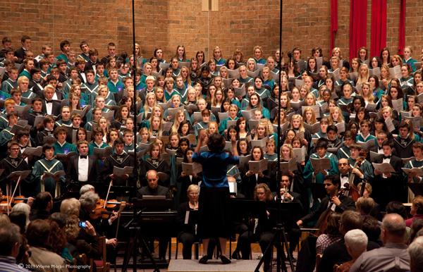 Dakota Valley Choral Festival 2011 - Mass Choir