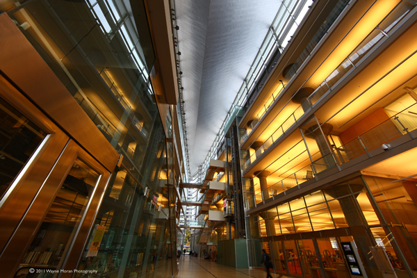 Interior of the Minneapolis Central Library