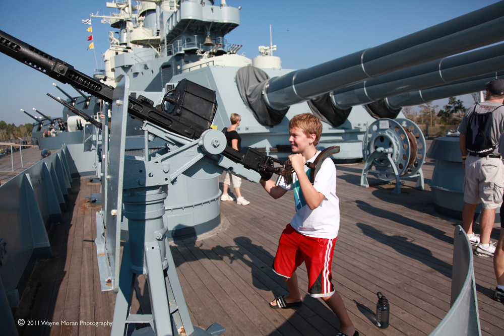 Mark with the big guns