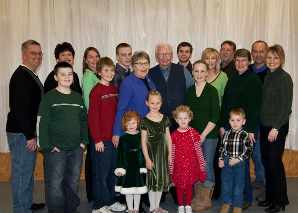 Family gathering for Duane's birthday