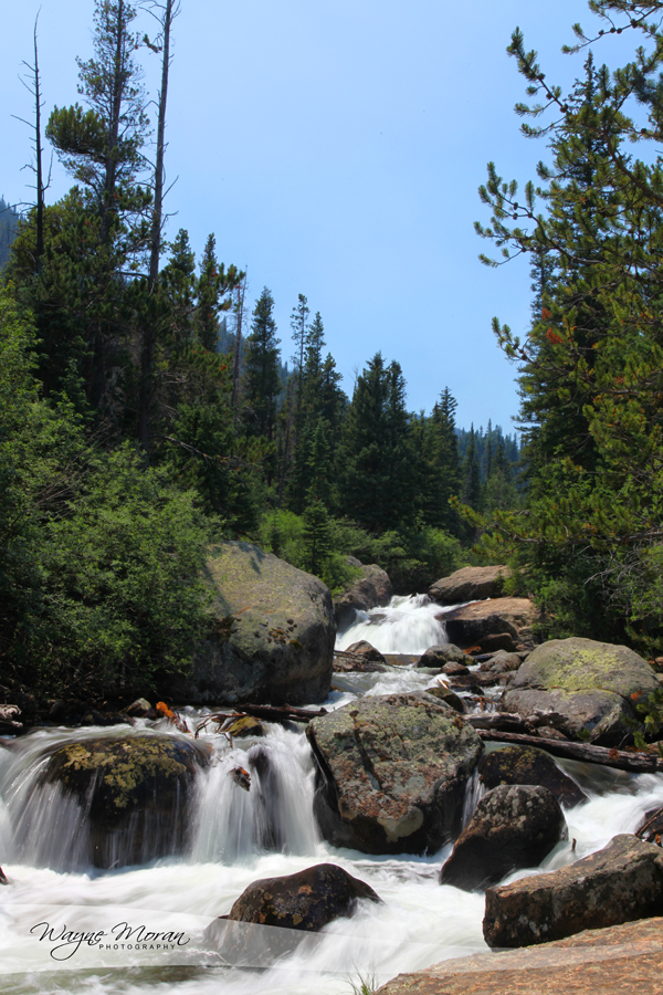 Calypso Cascades and Ouzel Falls Rocky Mountain National Park