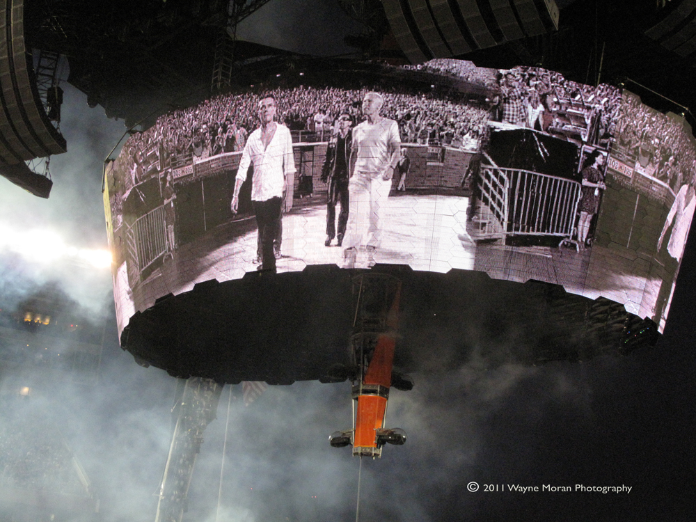 U2 Concert Minneapolis 2011 360 tour Wayne Moran Photography Events Photographer