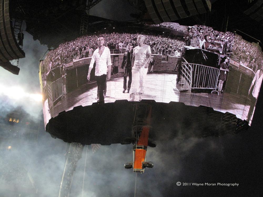U2 Concert Minneapolis 2011 360 tour Wayne Moran Photography Events Photographer