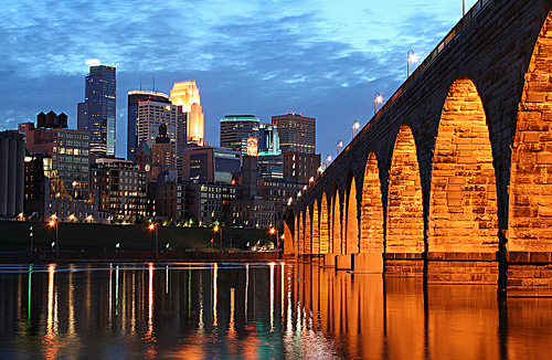 Minneapolis Stone Arch Bridge image by Wayne Moran, Stone Arch Festival