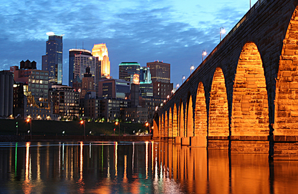 Minneapolis Stone Arch Bridge: Wayne Moran Photography